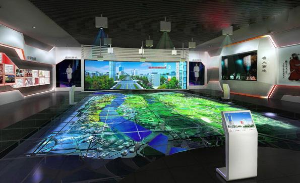 互动多媒体__数字沙盘_数字沙盘_数字展厅设计公司_企业展厅设计_博物馆设计